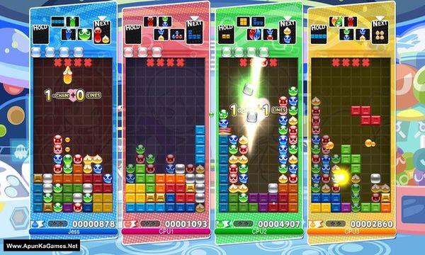 Puyo Puyo Tetris Screenshot 1, Full Version, PC Game, Download Free
