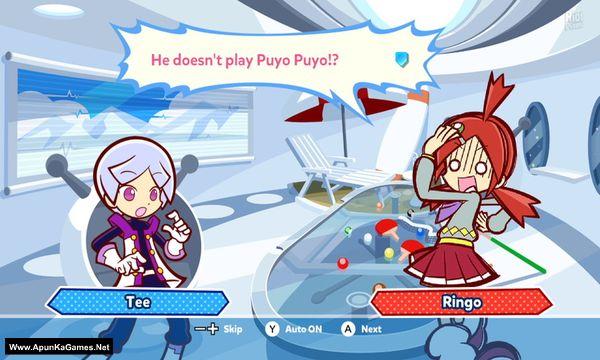 Puyo Puyo Tetris Screenshot 2, Full Version, PC Game, Download Free