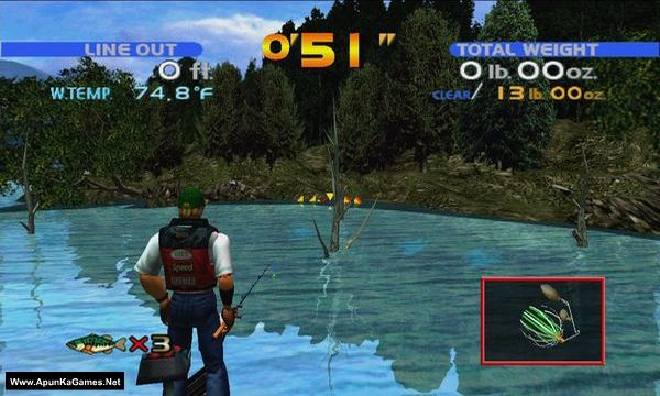 Sega Bass Fishing Screenshot 1, Full Version, PC Game, Download Free