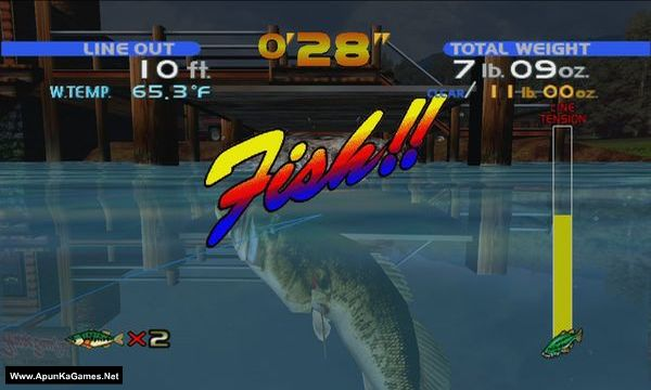 Sega Bass Fishing Screenshot 2, Full Version, PC Game, Download Free