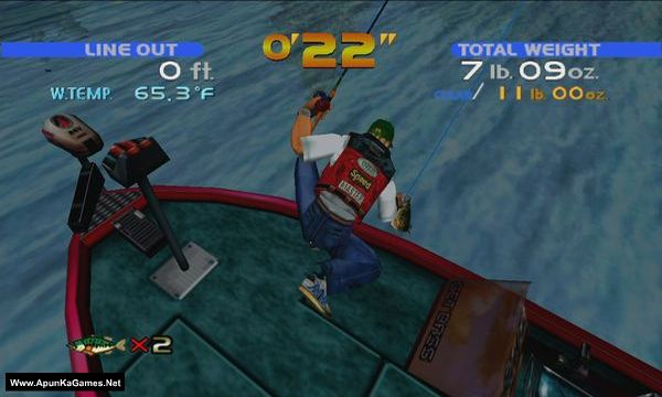 Sega Bass Fishing Screenshot 3, Full Version, PC Game, Download Free