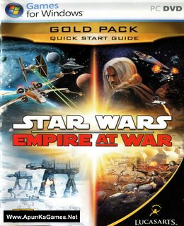 Star Wars: Empire at War Gold Pack Cover, Poster, Full Version, PC Game, Download Free