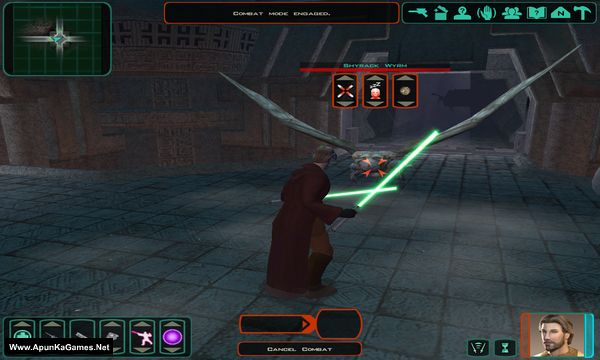 Star Wars Knights of the Old Republic 2: The Sith Lords Screenshot 1, Full Version, PC Game, Download Free