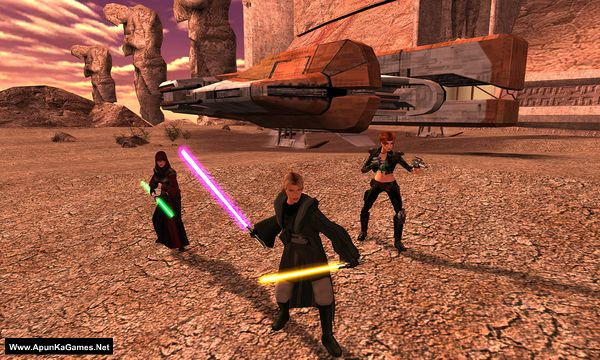 Star Wars Knights of the Old Republic 2: The Sith Lords Screenshot 3, Full Version, PC Game, Download Free