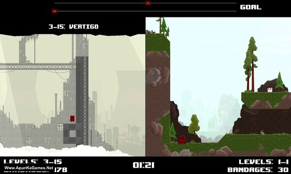 Super Meat Boy Race Mode Screenshot 3, Full Version, PC Game, Download Free