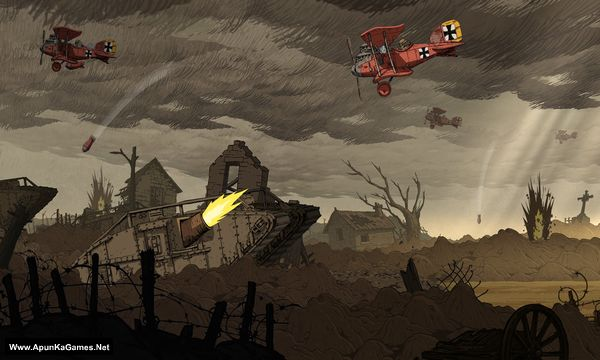 Valiant Hearts: The Great War Screenshot 3, Full Version, PC Game, Download Free