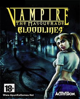 Vampire: The Masquerade Bloodlines Cover, Poster, Full Version, PC Game, Download Free