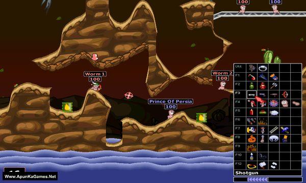 Worms Armageddon Screenshot 1, Full Version, PC Game, Download Free