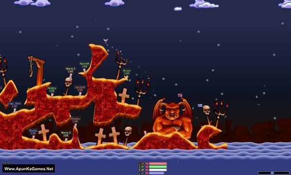 Worms Armageddon Screenshot 2, Full Version, PC Game, Download Free