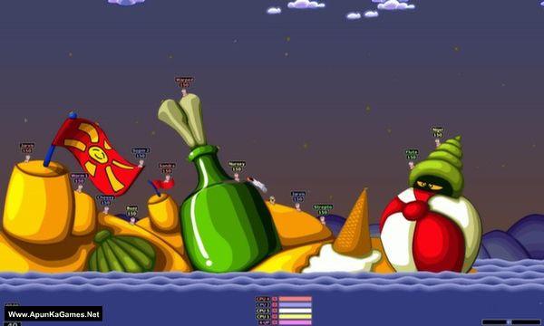 Worms Armageddon Screenshot 3, Full Version, PC Game, Download Free