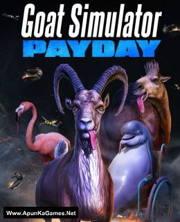 Goat Simulator: PAYDAY Cover, Poster, Full Version, PC Game, Download Free