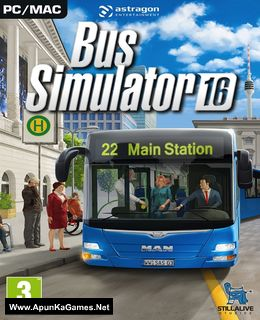 Bus Simulator 16 Cover, Poster, Full Version, PC Game, Download Free