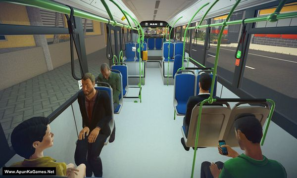 Bus Simulator 16 Screenshot 1, Full Version, PC Game, Download Free
