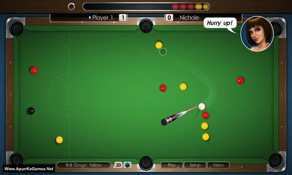Cue Club 2: Pool & Snooker Screenshot 1, Full Version, PC Game, Download Free