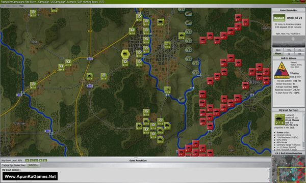 Flashpoint Campaigns: Red Storm Player's Edition Screenshot 1, Full Version, PC Game, Download Free