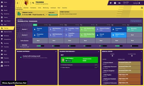 Football Manager 2019 Screenshot 3, Full Version, PC Game, Download Free