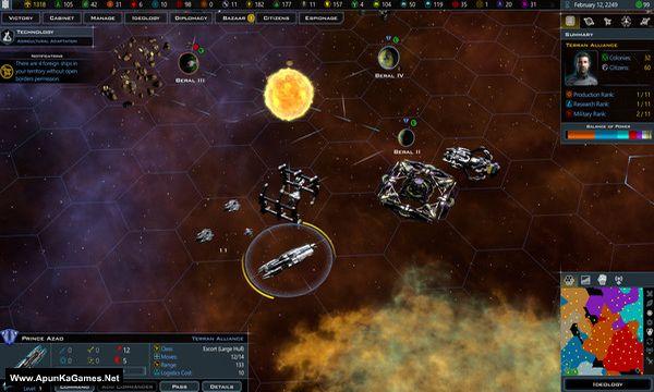 Galactic Civilizations 3 Screenshot 1, Full Version, PC Game, Download Free
