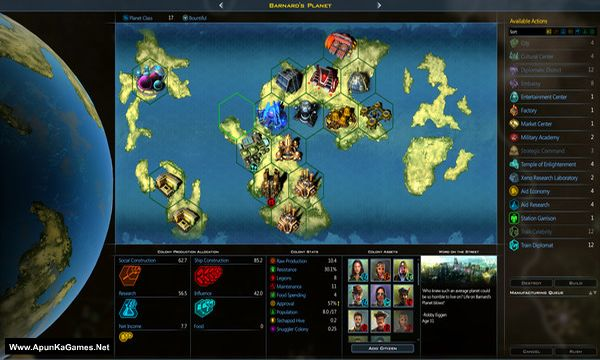 Galactic Civilizations 3 Screenshot 1, Full Version, PC Game, Download Free