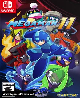 Mega Man 11 Cover, Poster, Full Version, PC Game, Download Free