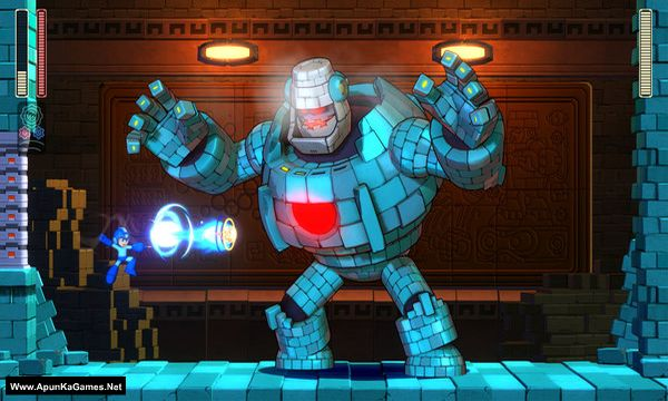 Mega Man 11 Screenshot 1, Full Version, PC Game, Download Free