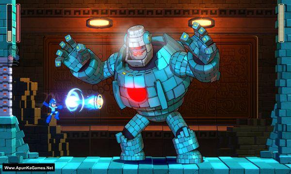 Mega Man 11 Screenshot 1, Full Version, PC Game, Download Free