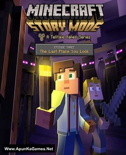 Minecraft: Story Mode Episode 3 Cover, Poster, Full Version, PC Game, Download Free