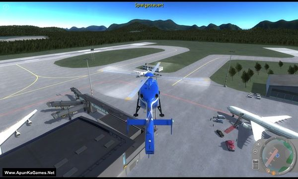 Police Helicopter Simulator Screenshot 1, Full Version, PC Game, Download Free