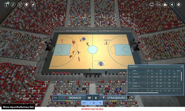 Pro Basketball Manager 2019 Screenshot 1, Full Version, PC Game, Download Free
