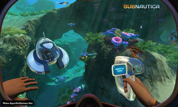 Subnautica Screenshot 1, Full Version, PC Game, Download Free