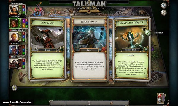 Talisman - The Cataclysm Expansion Screenshot 1, Full Version, PC Game, Download Free