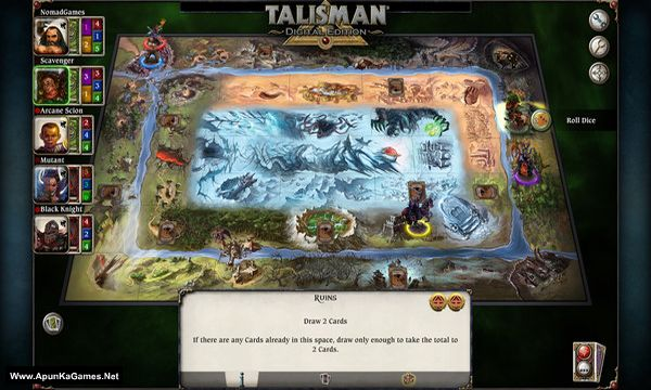 Talisman - The Cataclysm Expansion Screenshot 3, Full Version, PC Game, Download Free