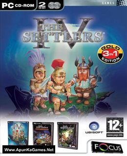 The Settlers 4: Gold Edition Cover, Poster, Full Version, PC Game, Download Free