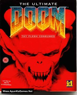 The Ultimate Doom Cover, Poster, Full Version, PC Game, Download Free