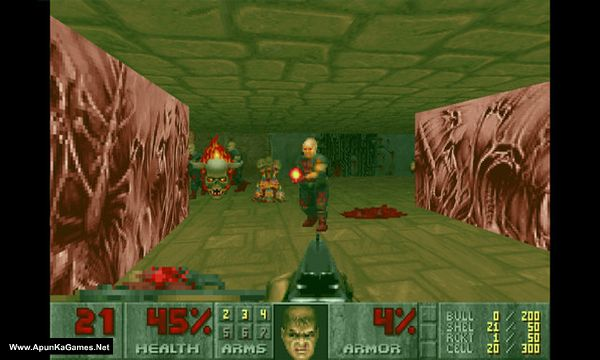 The Ultimate Doom Screenshot 1, Full Version, PC Game, Download Free