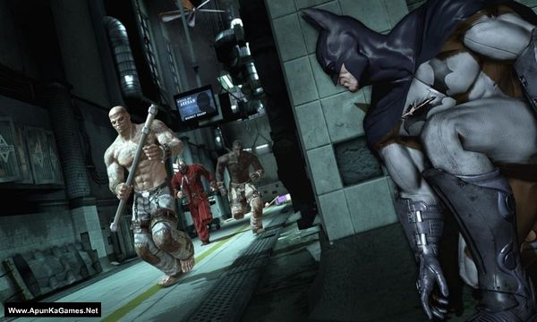 Batman: Arkham Asylum Screenshot 1, Full Version, PC Game, Download Free