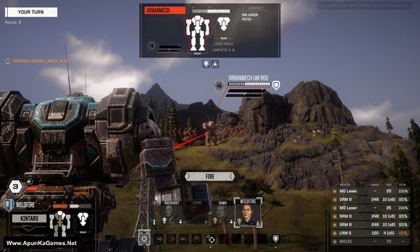 BATTLETECH Screenshot 2, Full Version, PC Game, Download Free