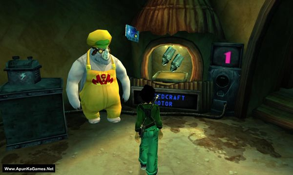 Beyond Good and Evil Screenshot 2, Full Version, PC Game, Download Free
