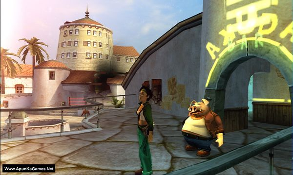 Beyond Good and Evil Screenshot 3, Full Version, PC Game, Download Free