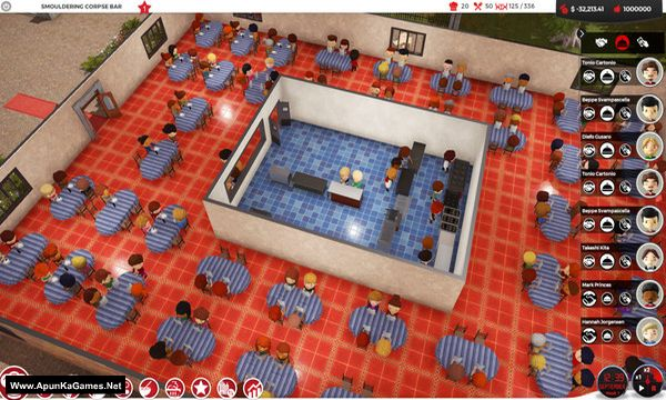 Chef: A Restaurant Tycoon Game Screenshot 1, Full Version, PC Game, Download Free
