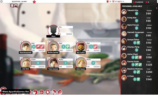 Chef: A Restaurant Tycoon Game Screenshot 2, Full Version, PC Game, Download Free