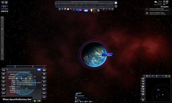 Distant Worlds: Universe Screenshot 1, Full Version, PC Game, Download Free