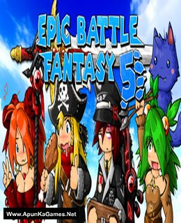 Epic Battle Fantasy 5 Cover, Poster, Full Version, PC Game, Download Free