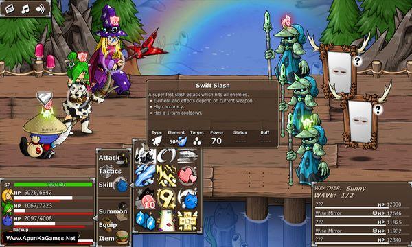 Epic Battle Fantasy 5 Screenshot 1, Full Version, PC Game, Download Free