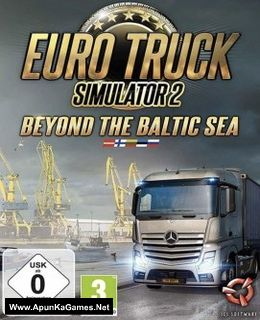 Euro Truck Simulator 2: Beyond the Baltic Sea Cover, Poster, Full Version, PC Game, Download Free