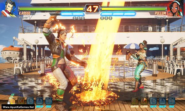 FIGHTING EX LAYER Screenshot 1, Full Version, PC Game, Download Free