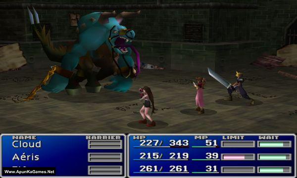 Final Fantasy VII Screenshot 1, Full Version, PC Game, Download Free