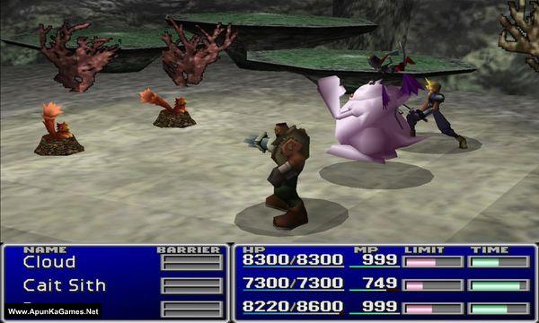 Final Fantasy VII Screenshot 3, Full Version, PC Game, Download Free