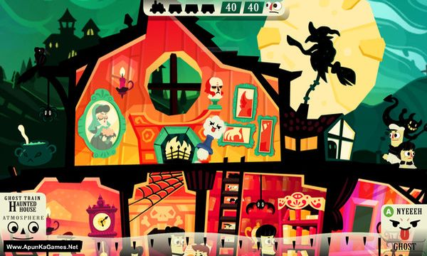 Haunt the House: Terrortown Screenshot 1, Full Version, PC Game, Download Free