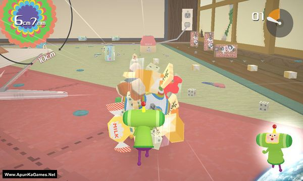 Katamari Damacy Reroll Screenshot 1, Full Version, PC Game, Download Free