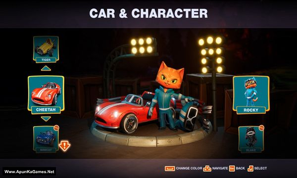 Meow Motors Screenshot 2, Full Version, PC Game, Download Free